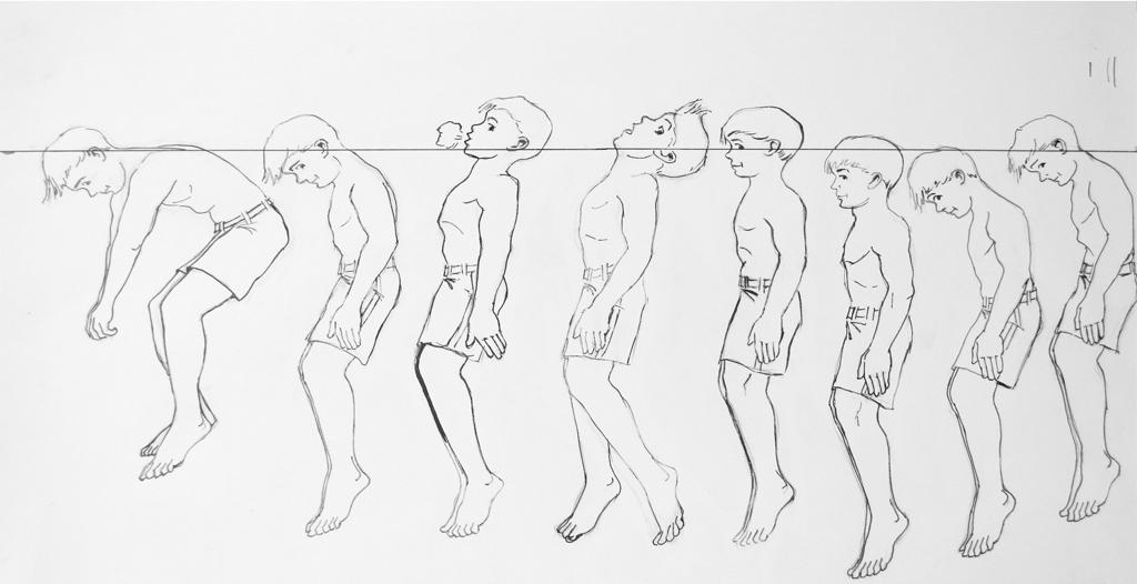 vertical float illustration